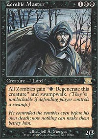 MTG Card: Zombie Master