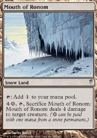 Mouth Of Ronom Csp Mtg Card
