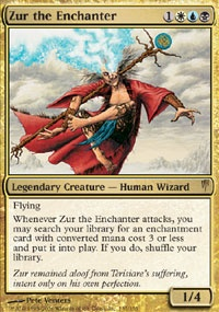 MTG Card: Zur the Enchanter