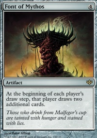 MTG Card: Font of Mythos