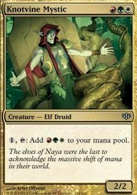 MTG Card: Knotvine Mystic