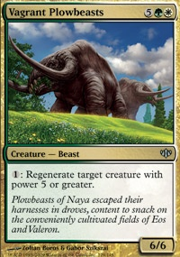 MTG Card: Vagrant Plowbeasts