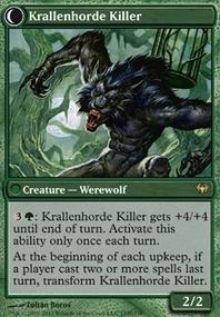 MTG Card: Krallenhorde Killer