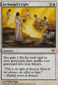MTG Card: Archangel's Light