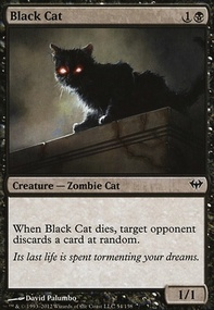 MTG Card: Black Cat