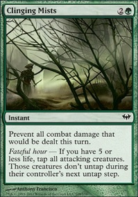 MTG Card: Clinging Mists