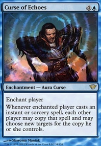 MTG Card: Curse of Echoes