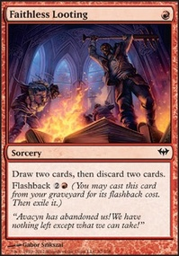 MTG Card: Faithless Looting
