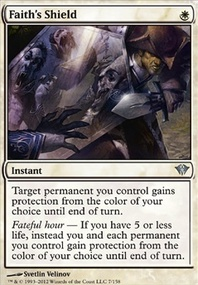 MTG Card: Faith's Shield
