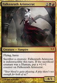 MTG Card: Falkenrath Aristocrat