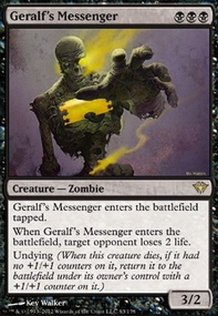 MTG Card: Geralf's Messenger