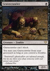 MTG Card: Gravecrawler
