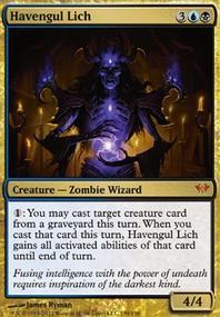 MTG Card: Havengul Lich