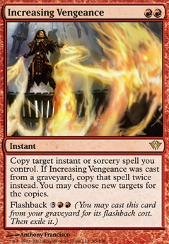 Increasing Vengeance