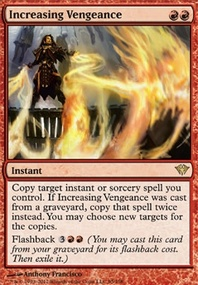 MTG Card: Increasing Vengeance