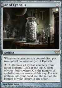 MTG Card: Jar of Eyeballs