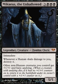 MTG Card: Mikaeus, the Unhallowed