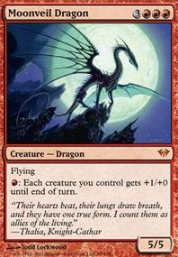 MTG Card: Moonveil Dragon