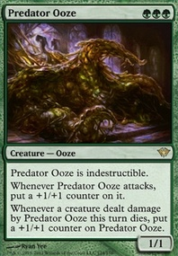 MTG Card: Predator Ooze