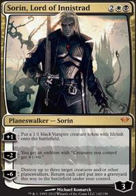 MTG Card: Sorin, Lord of Innistrad
