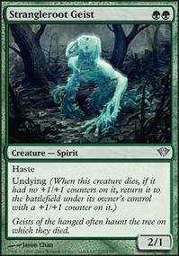MTG Card: Strangleroot Geist