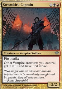 MTG Card: Stromkirk Captain