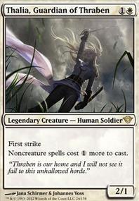 MTG Card: Thalia, Guardian of Thraben