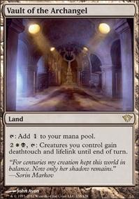 MTG Card: Vault of the Archangel