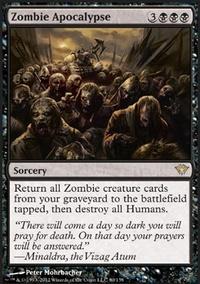 MTG Card: Zombie Apocalypse