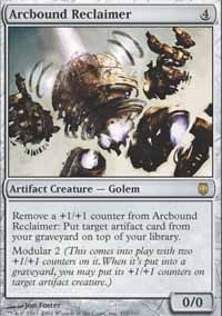 MTG Card: Arcbound Reclaimer