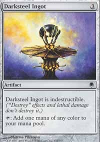 MTG Card: Darksteel Ingot