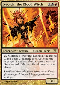 MTG Card: Lyzolda, the Blood Witch