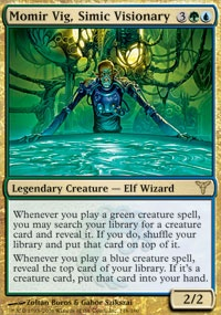 MTG Card: Momir Vig, Simic Visionary