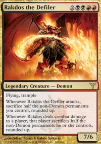 MTG Card: Rakdos the Defiler