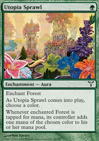 MTG Card: Utopia Sprawl