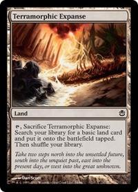 MTG Card: Terramorphic Expanse