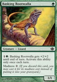 MTG Card: Basking Rootwalla