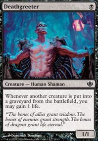 MTG Card: Deathgreeter