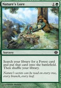 MTG Card: Nature&#39;s Lore