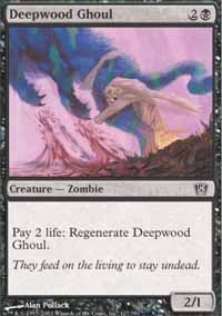 MTG Card: Deepwood Ghoul