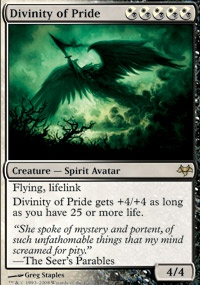 MTG Card: Divinity of Pride