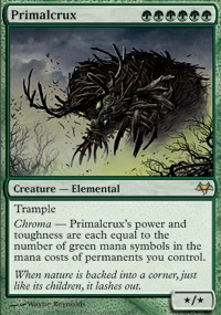 MTG Card: Primalcrux