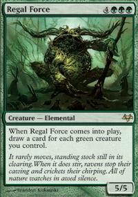 MTG Card: Regal Force