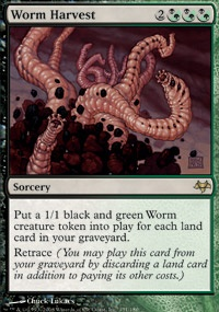 MTG Card: Worm Harvest