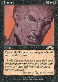 MTG Card: Hatred