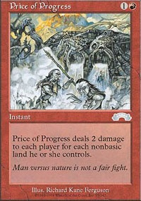 MTG Card: Price of Progress