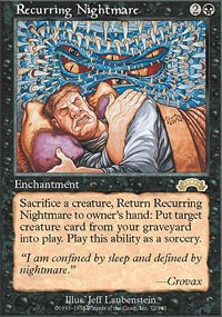 MTG Card: Recurring Nightmare