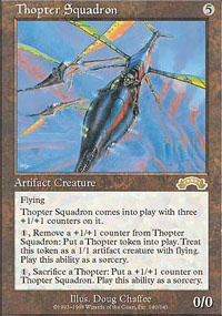 MTG Card: Thopter Squadron