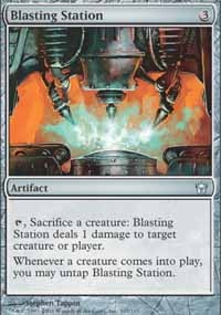 MTG Card: Blasting Station