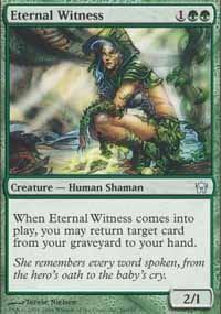 MTG Card: Eternal Witness